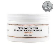 Vivo Per Lei Shea Body Butter, Gives You Baby Soft Skin, Devotion (2 Pack)