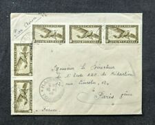 1948 Indochine Airmail Cover to Paris France