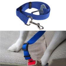 DOG / CAT - Pet Car Safety Seat Belt Harness ADJUSTABLE - BLUE  - UK SELLER