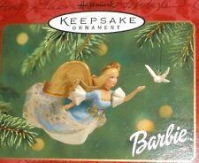 Hallmark ornament -  2001 Barbie Angel & Dove - 2 pieces - NIB