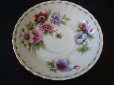 Royal Albert flor del mes de marzo anémonas Platillo