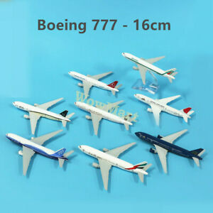 Super Quality Metal Boeing 777 Plane Model Collection 16cm (Various Airlines) #A