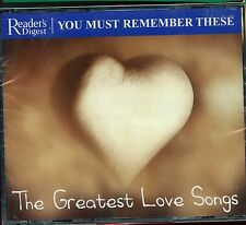 Readers Digest - You Must Remember These / The Greatest Love Songs - New& Sealed