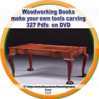 Woodworking Books 327 PDFs make wood puzzles guitars Designs Projects DVD