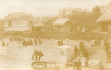 CLACTON ON SEA - King's Parade from Pier Essex 1913 Original RP Postcard (ED230)
