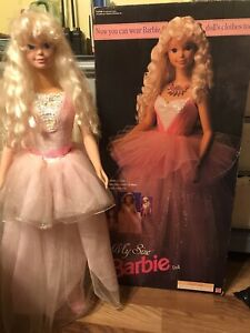 My Size Barbie Doll Fabulous looks 1992 Barbie Doll Collectible