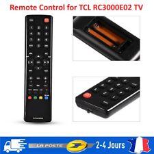 Remplacement de télécommande pour TCL RC3000E02