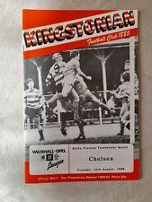 Micky Preston Test. Kingstonian v Chelsea 12.8.86
