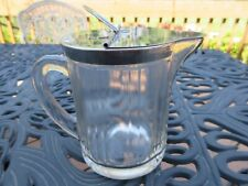 MCKEE FLIP TOP SYRUP PITCHER, DISPENCER