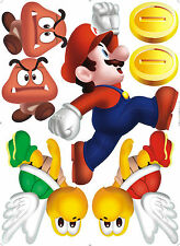 ★XXL!! Wall Sticker Wandstick:Super Mario Wanddeko wandtattoo wandaufkleber DE★