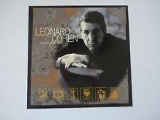 Leonard Cohen Best Of 1997 LP Record Photo Flat 12x12 Poster