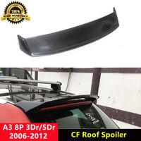 A3 8P Spoiler Carbon Fiber Rear Roof Wing for Audi 8P 3Dr/5Dr 2006-12