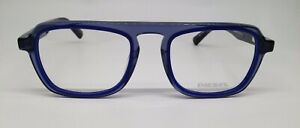 Diesel DL5288 Grey Blue 090 Plastic Aviator Eyeglasses Frame 51-20-145 DL 5288