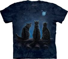 The Mountain Unisex Adult Wish Upon a Star Cat T Shirt