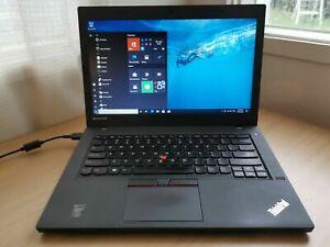 """Lenovo ThinkPad L450 14"""" Laptop Intel i5-5300U @2.3GHz 8GB 500GB HDD Win10P"""