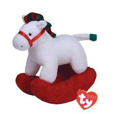 Ty Beanie Babies 31022 Pluffies Baby Safe Pretty Pony Christmas