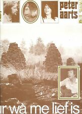 PETER AARTS vur wa me lief is HOLLAND 1980 NEAR MINT LP + TEXT INLAY