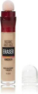 Maybelline New York Concealer, Instant Anti-Ageing Eraser, 01 Light, 6.8 ml- NEW