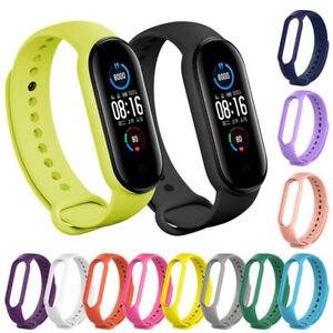 For Xiaomi Mi Band 2 3 4 5 6 Strap Replacement Wrist Bracelet Sport Watch Band *