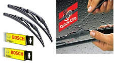 FOR BMW 3 SERIES E30 + M3 (82-91) ALL CARS BOSCH SUPER PLUS WIPER BLADES SET