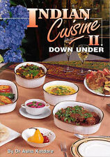 USED (LN) Indian Cuisine Ii Down Under by DR ASHA KATDARE