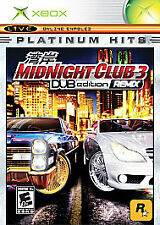 Midnight Club 3: DUB Edition - Remix Platinum Hits - Original Xbox Game
