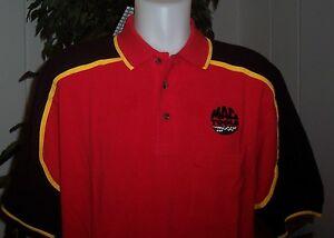 Mac Tools Racing Checkered Flag Polo Shirt Size SMALL 100% Cotton NEW