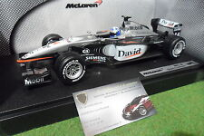 F1 McLAREN MERCEDES MP4/16 # 4 COULTHARD 1/18 HOT WHEELS 50199 voiture formule 1