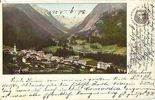 Pontresina im Engadin, Remys Stärke Fabrik, alte Reklame-Ansichtskarte von 1901