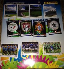 2014 BRAZIL PANINI WORLD CUP STICKERS  LOT OF 10, 20, 30, Etc