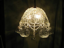 Hand-crafted Punch Bowl Chandelier (Arlington)