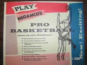 Negamco 1981 Pro Basketball Game Mint