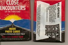 1978 Close Encounters Of The Third Kind Unopened Pack