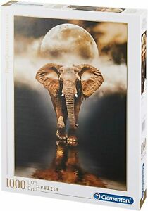 Clementoni - High Quality Collection - The Elephant Jigsaw Puzzle (1000 Pieces)