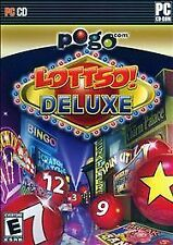 Lottso! Deluxe  (PC, 2007) 022787612061 Pogo.com Match, Scratch, & WIN PC Game