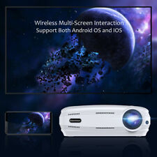3D 1080P Full HD Video Proiettore WiFi CASA CINEMA Android 6.0 HDMI/VGA/USB/AV