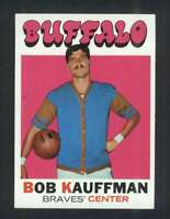 1971-72 Topps #84 Bob Kauffman NM/NM+ DP 44052