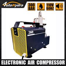 High Pressure Pump Adjustable Pressure Electric Air Compressor For Pcp Filling