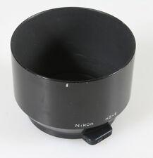 NIKON HS-8 LENS HOOD FOR NIKKOR 105/2.5, 135/3.5, 105/4 LENSES