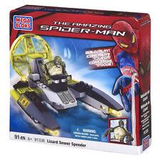 MEGA BLOKS SPIDER-MAN   LIZARD SEWER SPEEDER  *** NEW *** IN SEALED BOX  MEGA BL