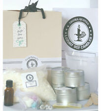 Soy Candle Making Kits Makes 5 Candle tins FREE wax melts with every purchase