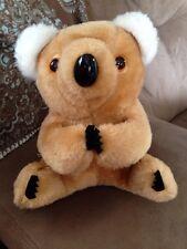 Rare Vintage KOALA BEAR Plush CUDDLY SNUGABLE AM RADIO