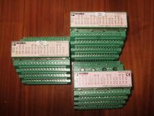 Lot of 3 X Phoenix Contact 32 DO Modules.  IBS ST 24 D) 32/2  P/N  2754325