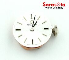 Omega 38697024 Silver Stick Dial Hand Winding Movement/Dial