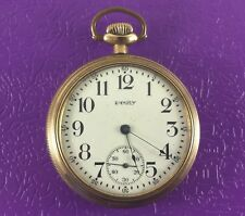 Antique Equity (Waltham) Gold Fill Pocket Watch Boston 7 Jewels S/N 20771475