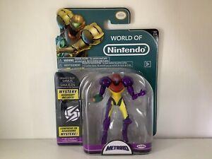 "World of Nintendo Metroid Gravity Suit Samus 4.5"" Series In Box Figure"