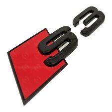 Audi S3 Gloss Black Boot Badge Emblem - Black Out Stealth Set