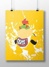 Baby Bowser Super Smash Brothers Brawl Video Game Poster Print Art Work