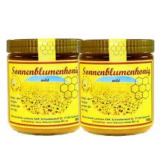 (10,95 EUR/kg) 2x 500g Sonnenblumenhonig Sonnenblumen Honig