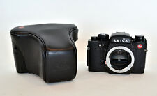 Leica R7 35mm SLR Film Camera Body and case, good user, some wear on base plate